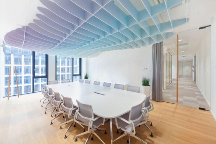 办公室装修—空间分隔的小巧思