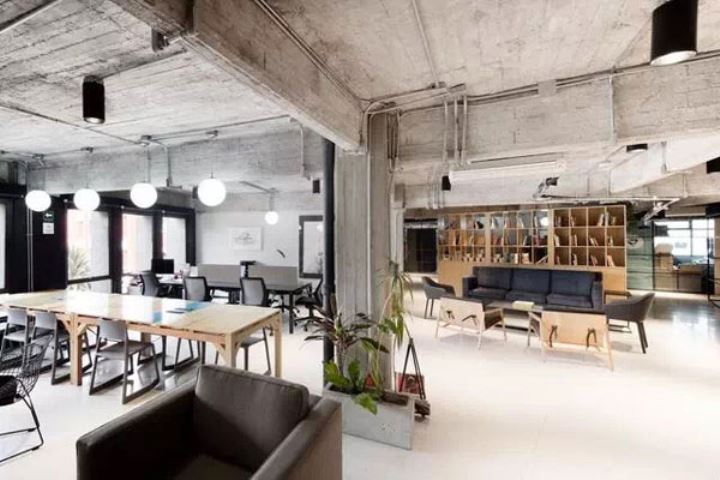 现代工业风办公室装修,看到不一样的空间