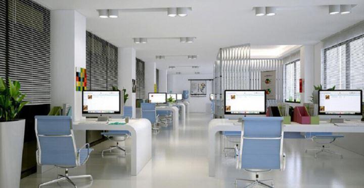 办公室装修怎样搭配颜色才合理?