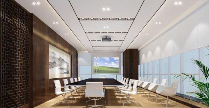上海办公室设计之稳重凝练风格