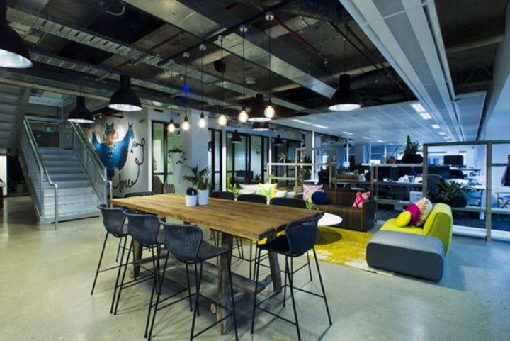 办公室设计之开放式办公空间