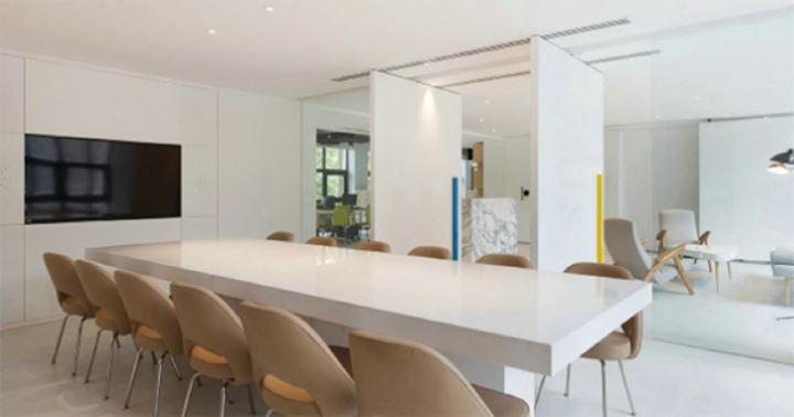了解下现代简欧办公室装修风格
