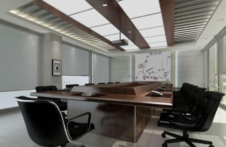 精致简约的现代办公室装修