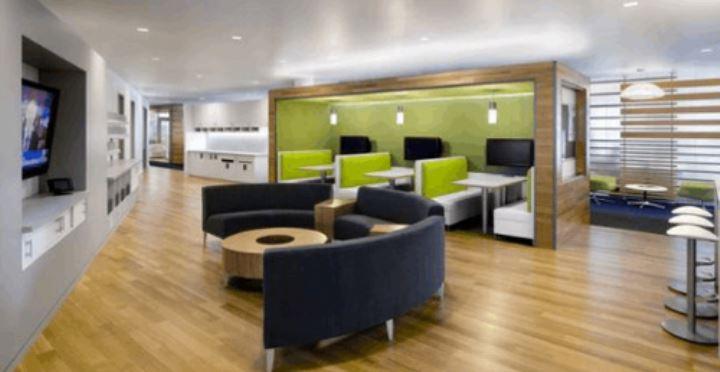 谈谈现代办公室设计中的色彩选择
