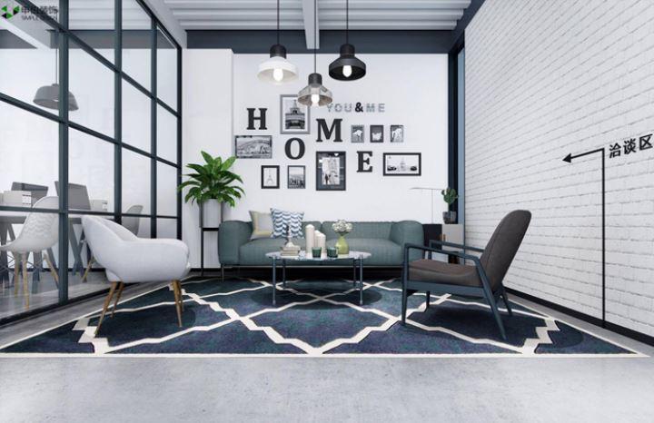 办公室装修之墙面装饰
