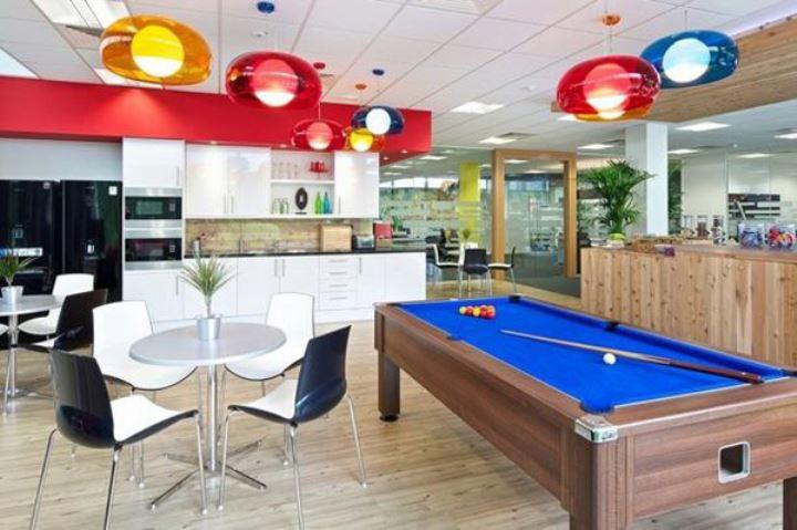 办公室装修之社交休闲空间