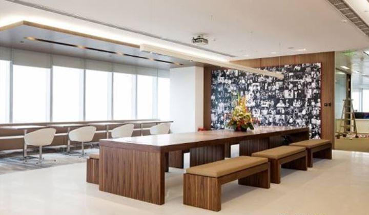 现代办公室装修,员工休息区怎么装
