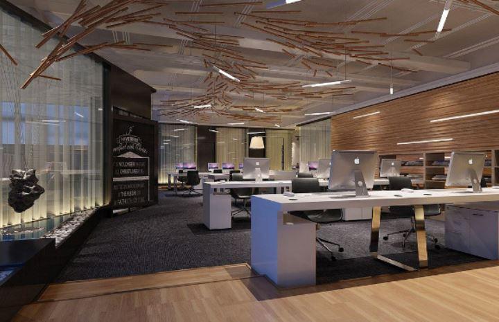不同类型空间的办公室设计