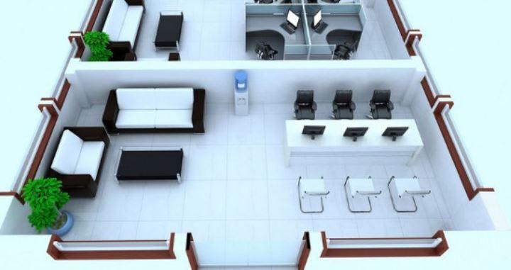 办公室设计中员工座位有哪些讲究