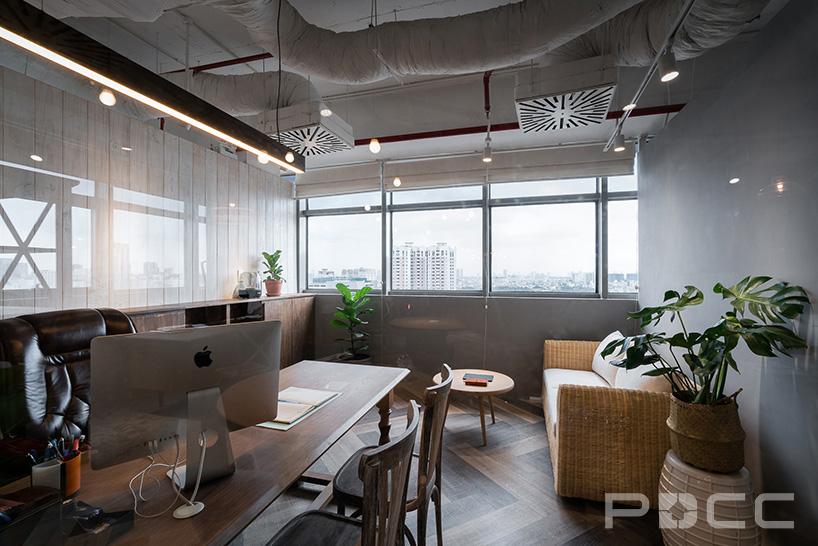 红5工作室设计房产办公室办公室装修6