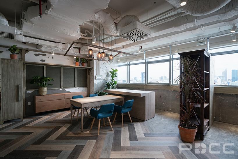 红5工作室设计房产办公室办公室装修8