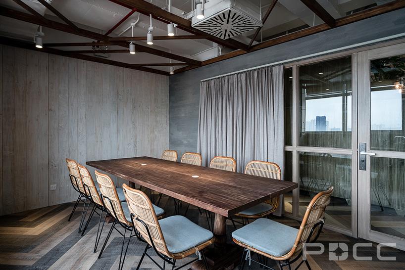 红5工作室设计房产办公室办公室装修9