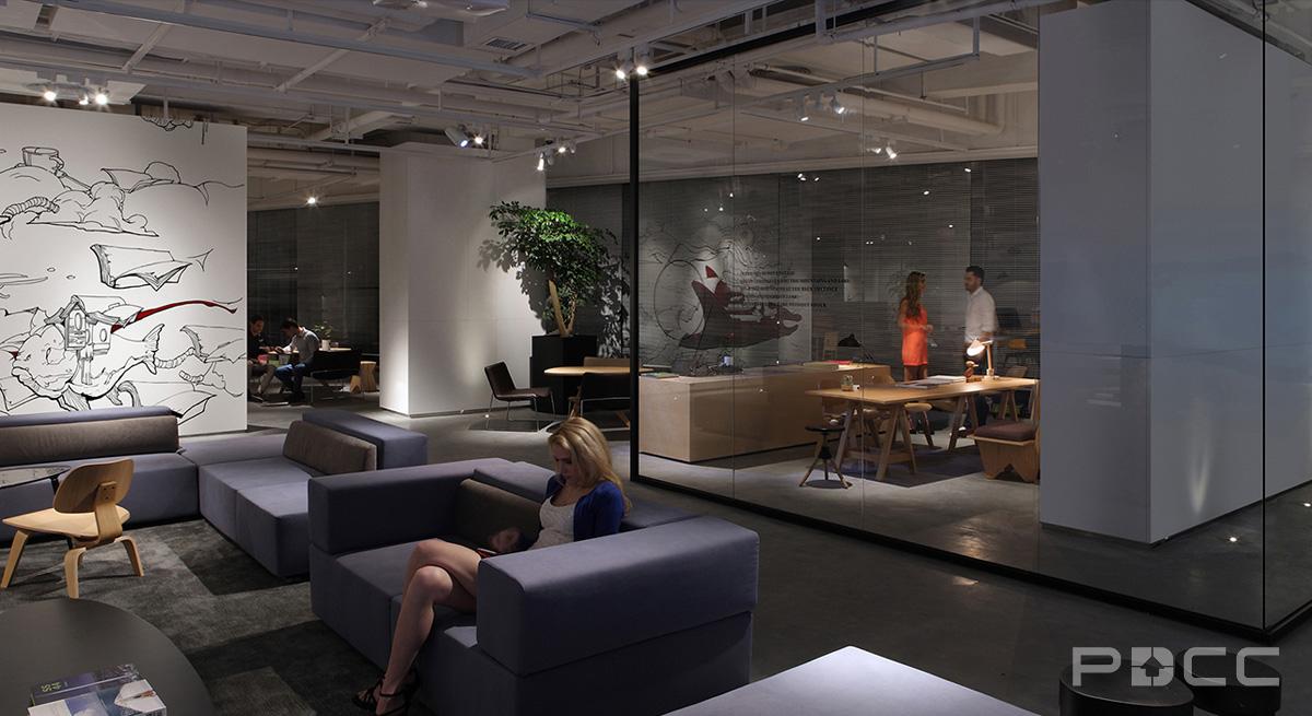 科技之光办公室装修办公室装修9