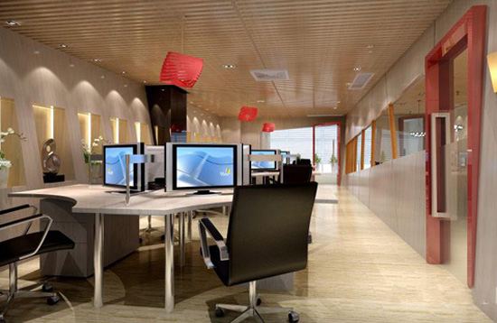 办公室装修之空间视觉