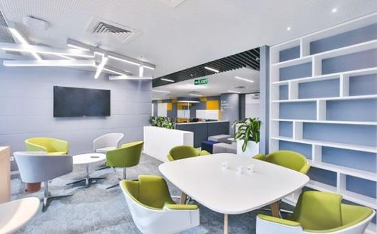 办公室设计中员工休息区该如何设计?