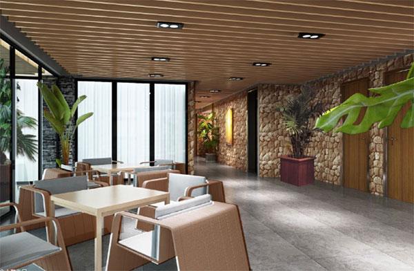 简约欧式办公室设计的淡雅之美