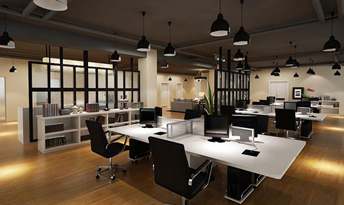办公室设计之金融企业