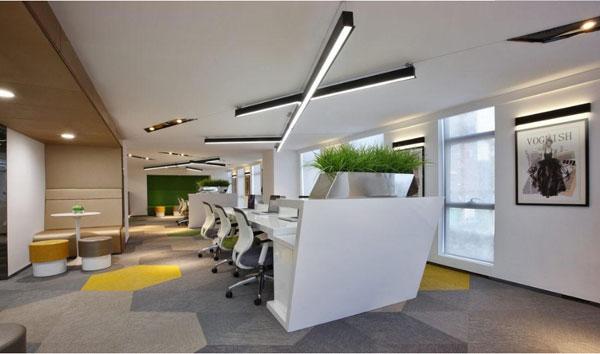 人性化的办公室设计让人们爱不释手