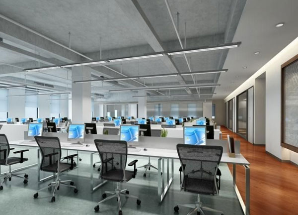 办公室设计中员工办公区布局的三种主要形式