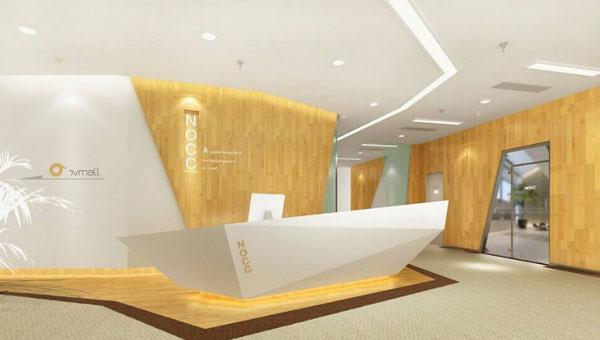办公室设计中前台区域布局设计的要点