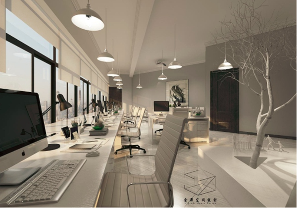 办公室设计要充满时代气息