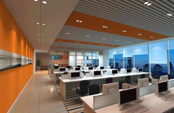 办公室设计时,顶面设计需要注意哪些事项