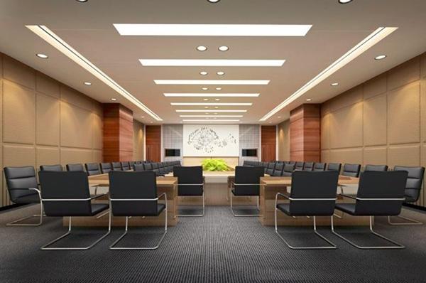 谈一谈办公室设计中视频会议室的布局设计