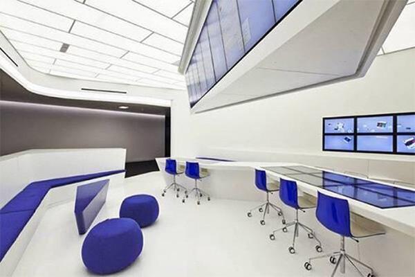 科技类公司办公室装修的特点