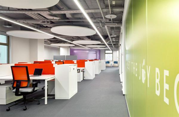 办公室设计中主色调选择的依据
