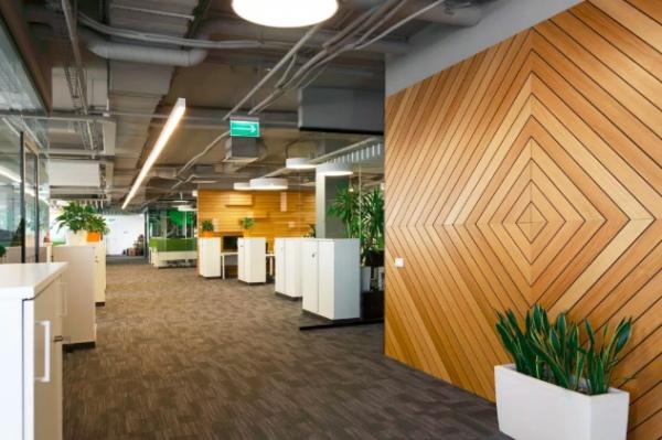 办公室设计要重视这三个位置的材料选择