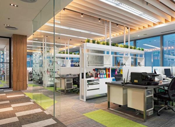 办公室装修要选健康环保的装修材料