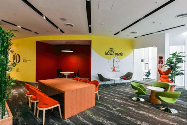优秀的办公室设计让员工享受办公生活