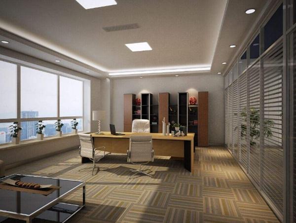 关于高大上的办公室装修