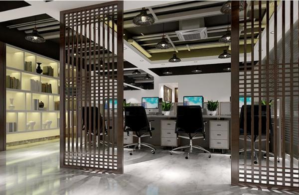 这样的办公室装修人们工作更积极