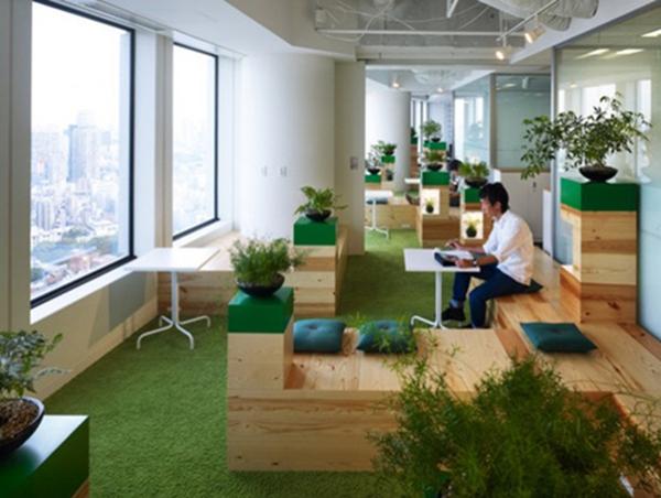 聊一聊日式办公室装修风格