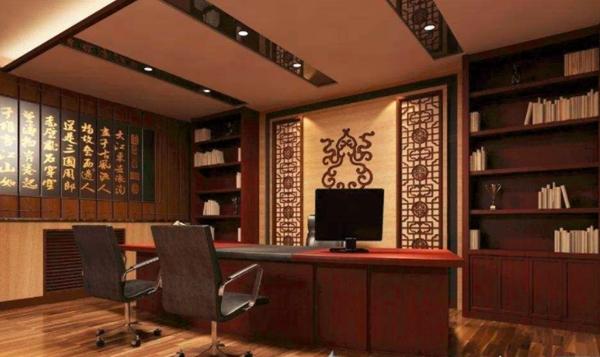 办公室装修中的传统文化元素