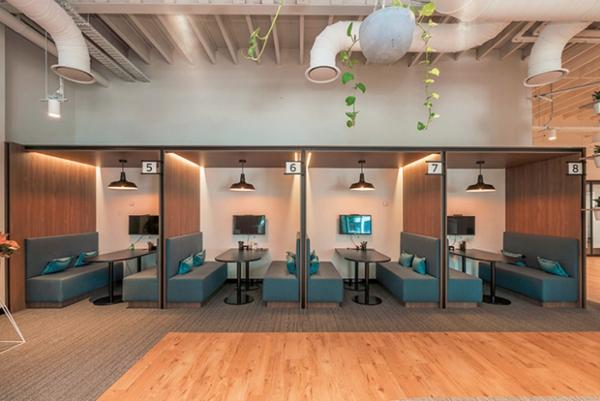 办公室设计时空间陈设布局的原则