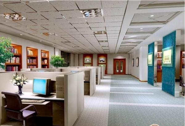 办公室装修时铺设地毯的好处及地毯选择技巧