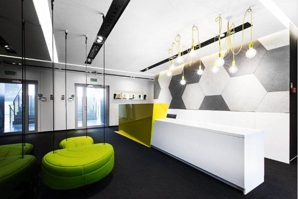 现代简约风格办公室设计赏析