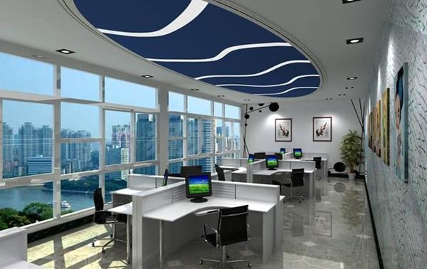 办公室装修只能选一种风格吗?