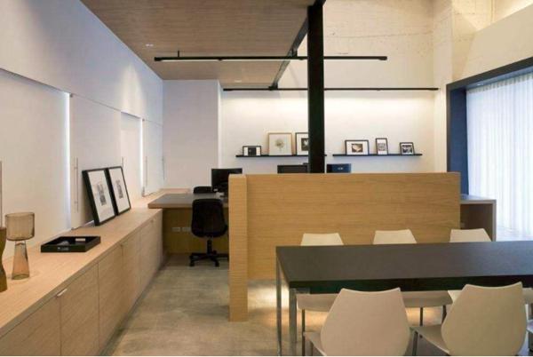 办公室设计中该怎样选择隔断的材料