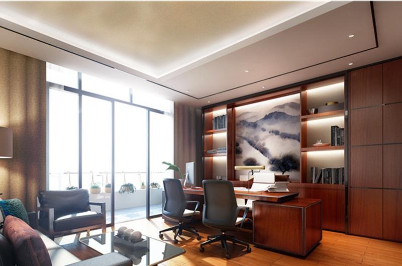 办公室装修扩大空间感的一些技巧