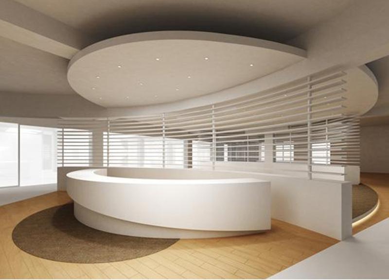 上海办公室设计中的前台分类