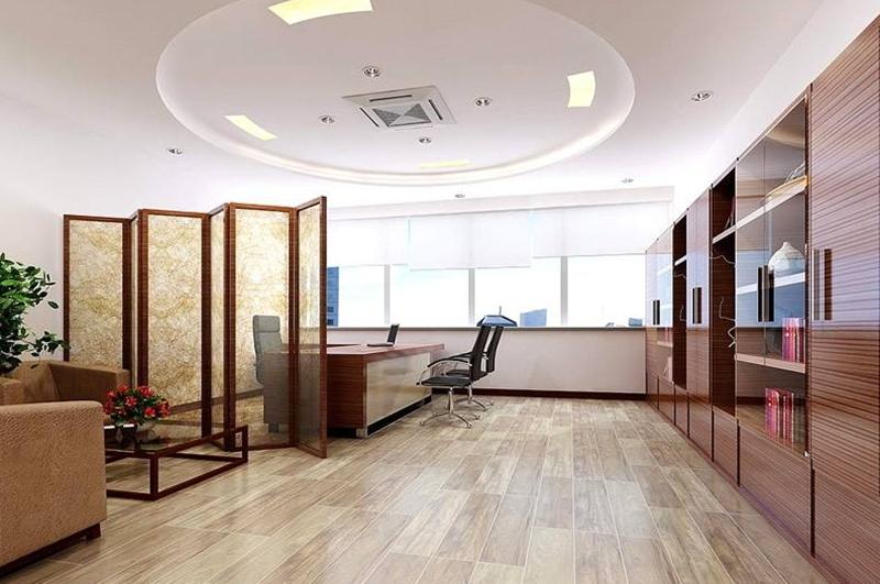 上海办公室装修之常见的天花