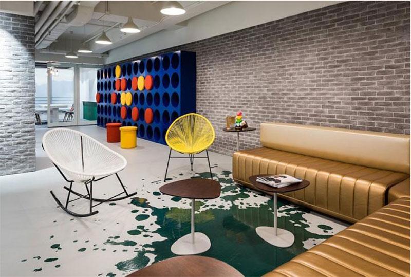 上海办公室设计中的颜色选择和搭配