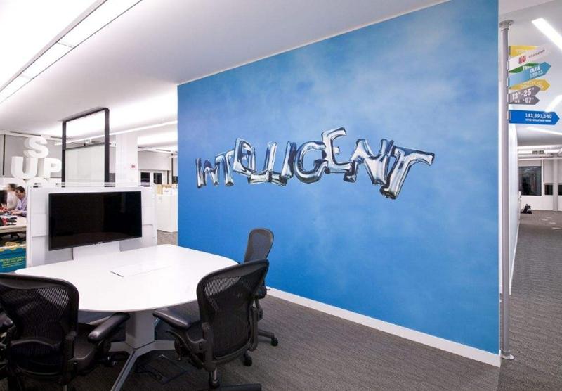 谈谈上海办公室设计中的墙面设计