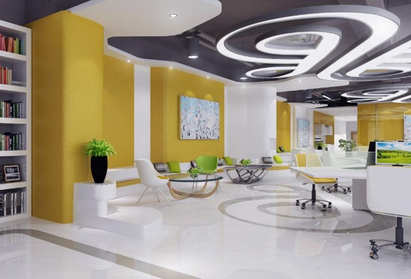上海办公室设计中的欧美风格