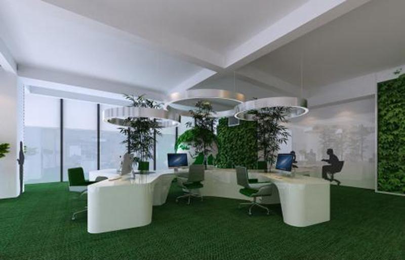 上海办公室装饰中的实用策略