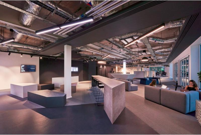 上海办公室设计中色彩设计的有效应用