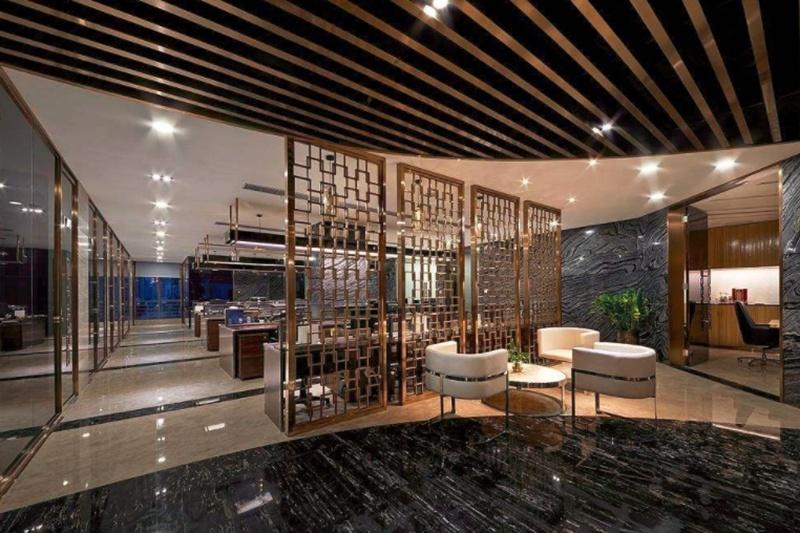 上海办公室装修中接待区装修的相关事项